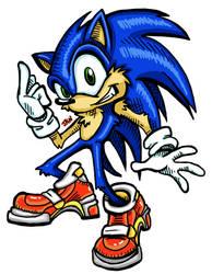 SA2 Sonic (speed-paint)