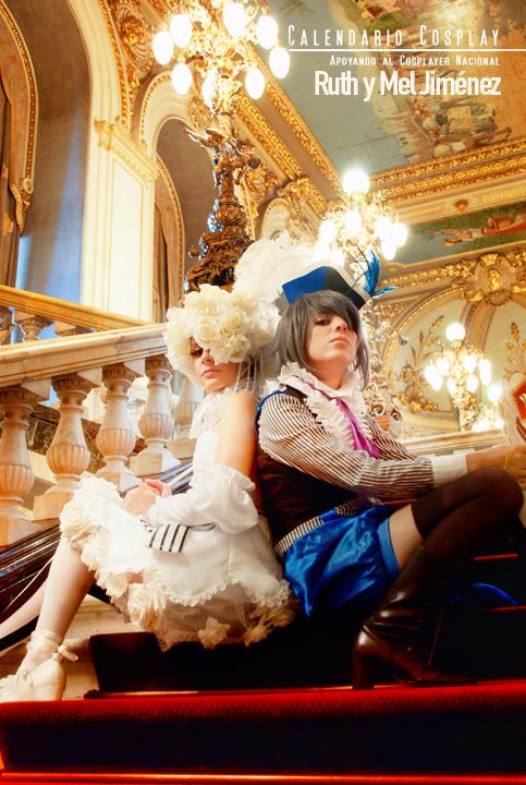 Doll y Ciel Phantomhive - Kuroshitsuji by Calendario-Cosplay