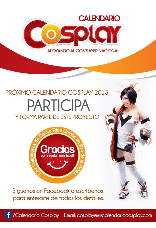 CALENDARIO COSPLAY 2013 by Calendario-Cosplay