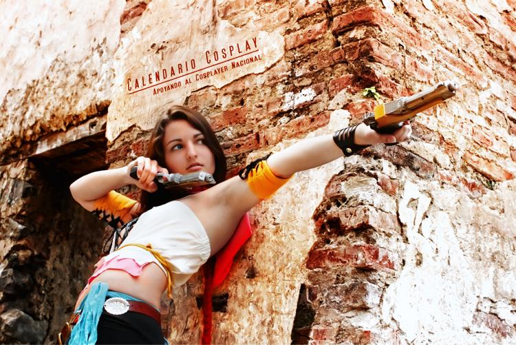Yuna Final Fantasy x by Calendario-Cosplay