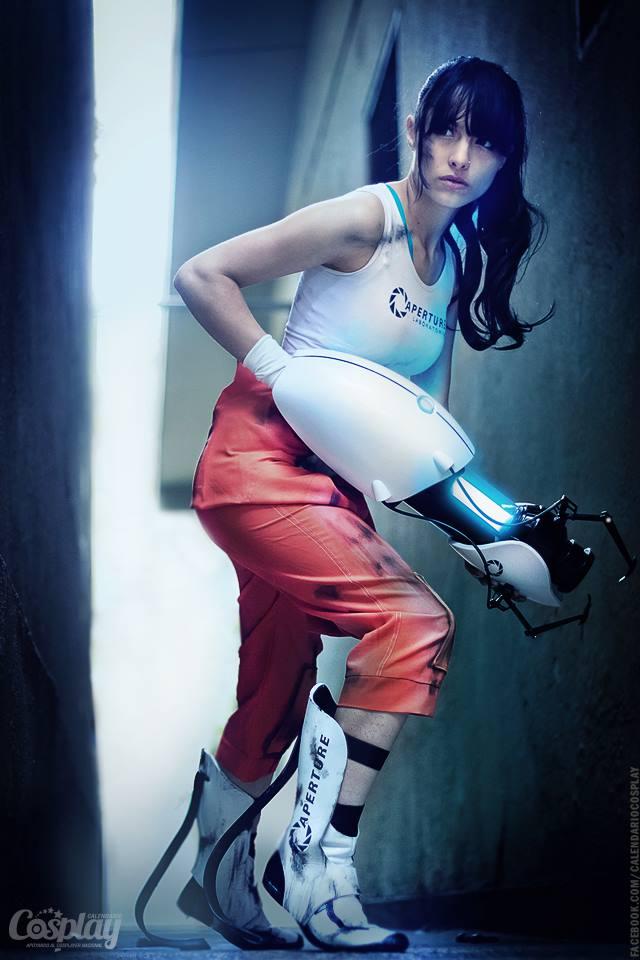 Chell | Portal 2 by Calendario-Cosplay