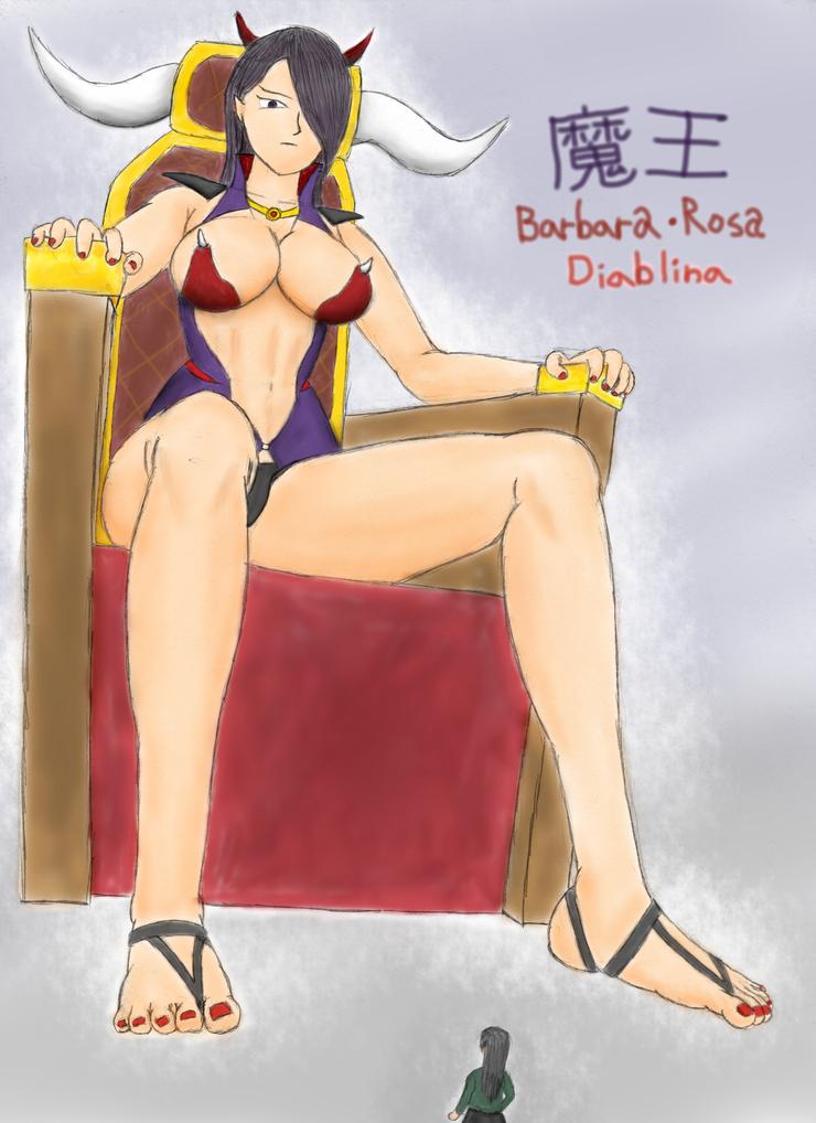 Barbara-Rosa Diablina by yamumil