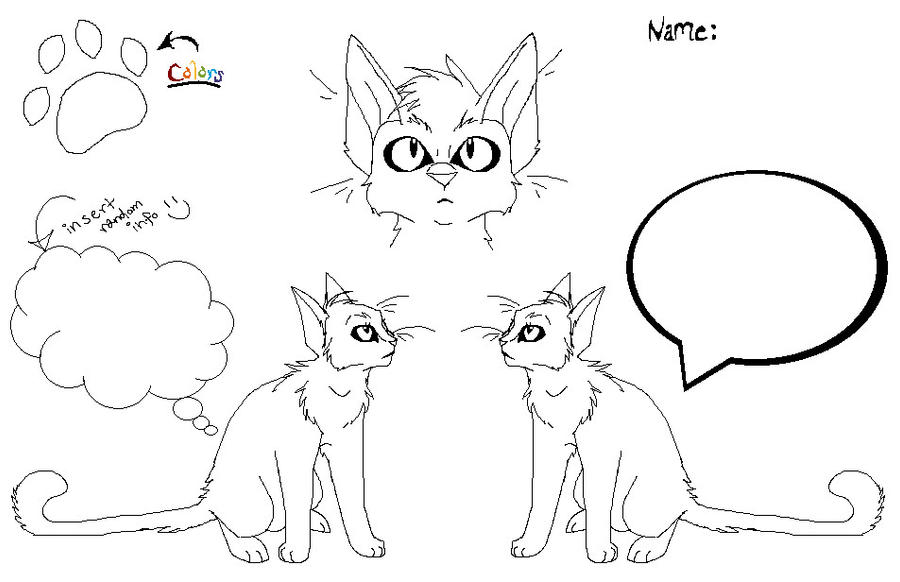 Cat Reference Sheet? by FlyingSpaceDorito