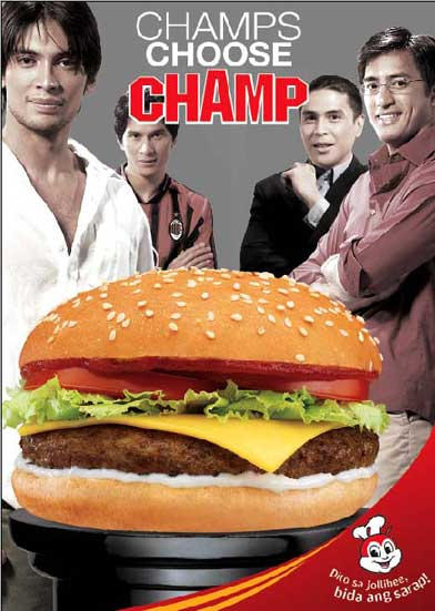 Champ's Choose CHAMP by jollibee