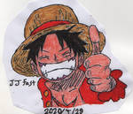 Monkey D. Luffy LIKE