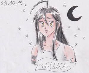 Inktober 2019 - 23.10 Luna