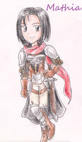 Mathia from Fire Emblem Thracia 776
