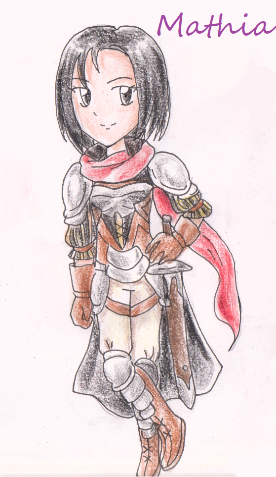 Mathia from Fire Emblem Thracia 776