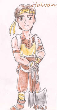 Halvan from Fire Emblem Thracia 776