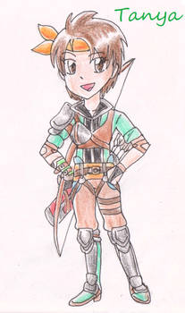 Tanya from Fire Emblem Thracia 776