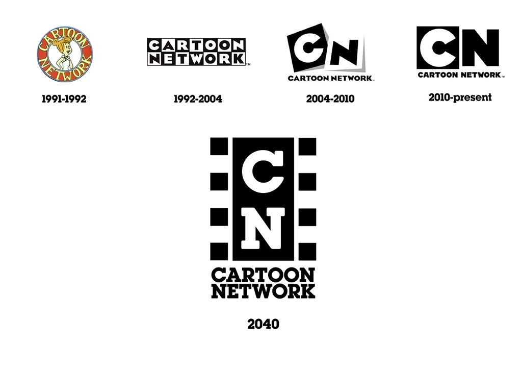 classic cartoon network fifthly logo 2040 by