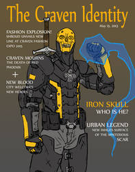 Iron Skull Magazine Cover by Mr-Squidy