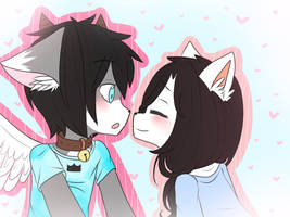 Gift: Give me a kiss! by avozinha