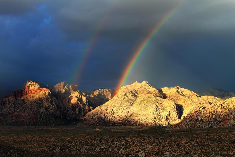 Double Rainbow by Celem