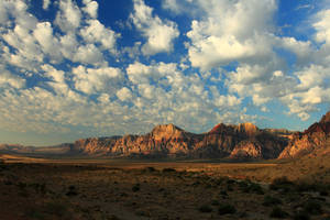 Longview of Spring Mountains by Celem