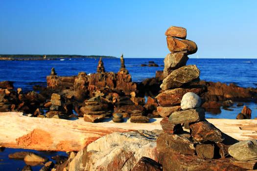 Rye Rock Cairns