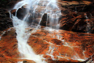 Red Falls by Celem