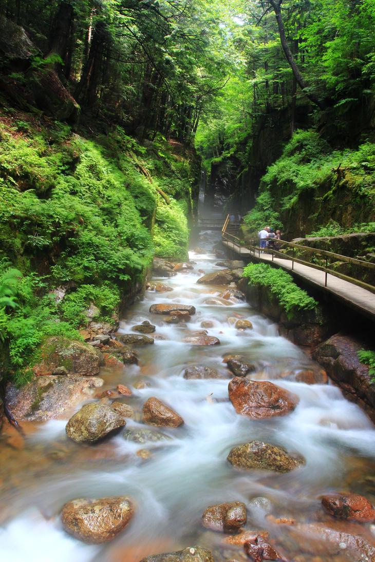 Flume River by Celem