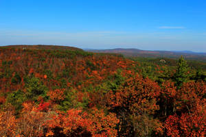 Central New Hampshire in October by Celem
