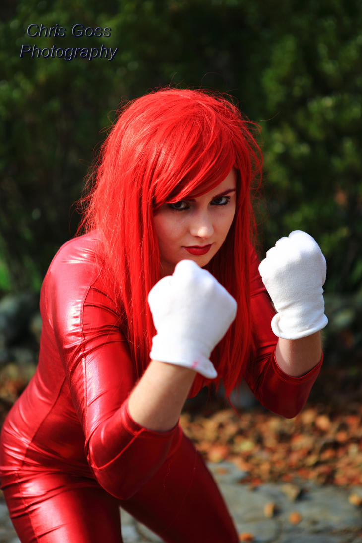 Knuckles Cosplay with Copper Chrome by Celem