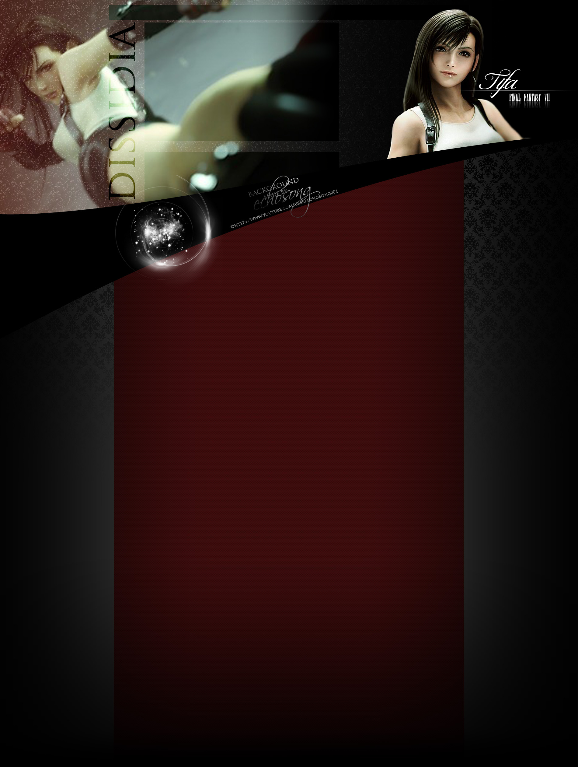 D012 Tifa Youtube Background by echosong001