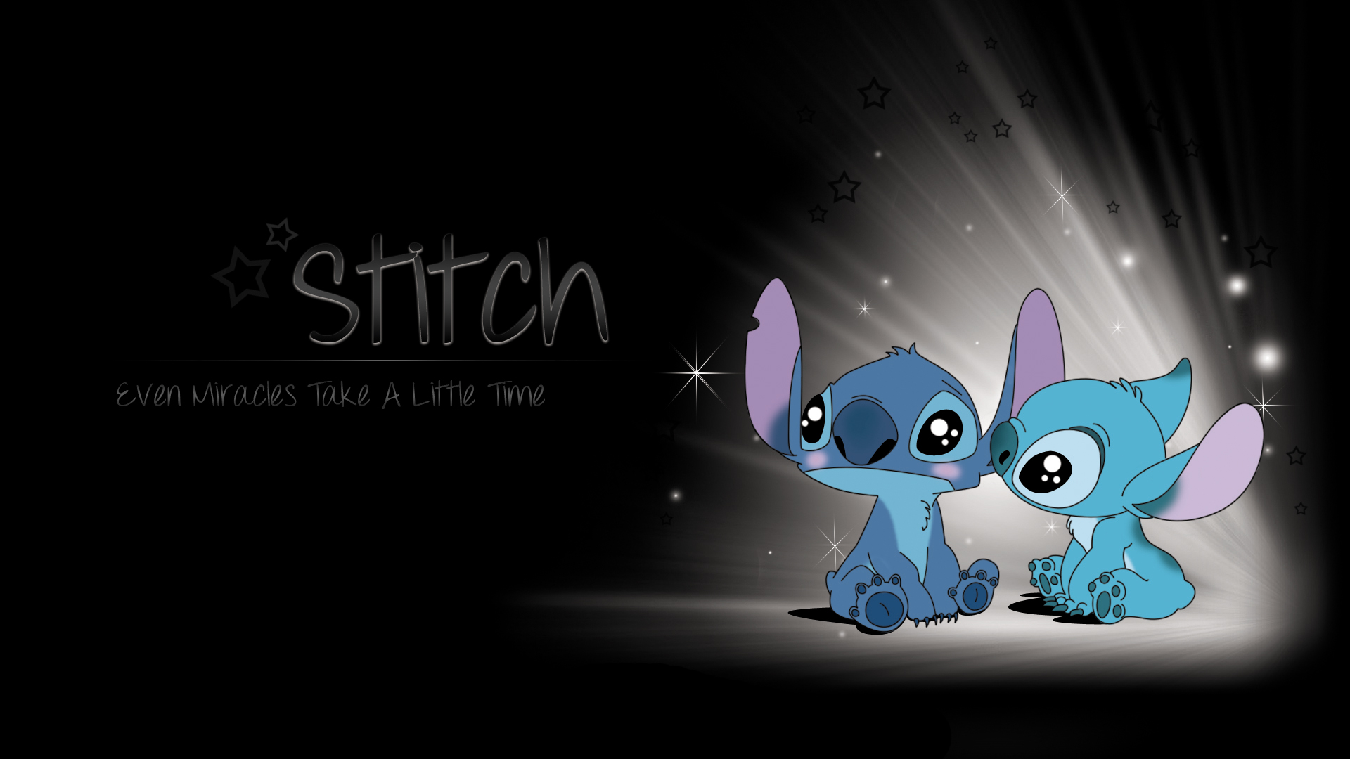 sad stitch wallpaper is - photo #2