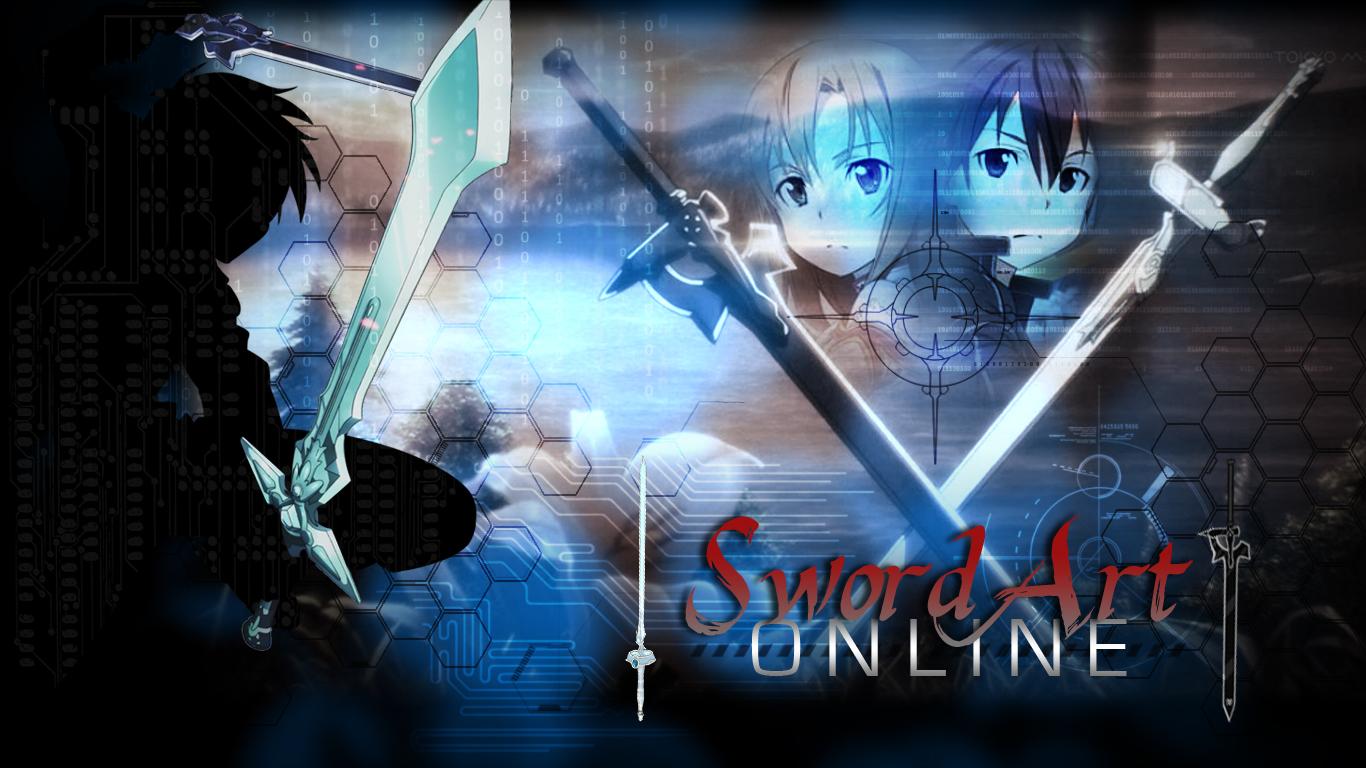 Sword Art Online Wallpaper 1366x768 By Echosong001