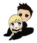 CHIBI Four and Tris