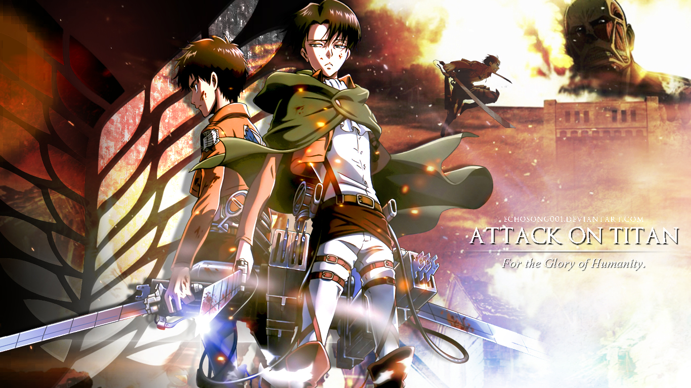 1080p Attack On Titan Levi Wallpaper Gambarku