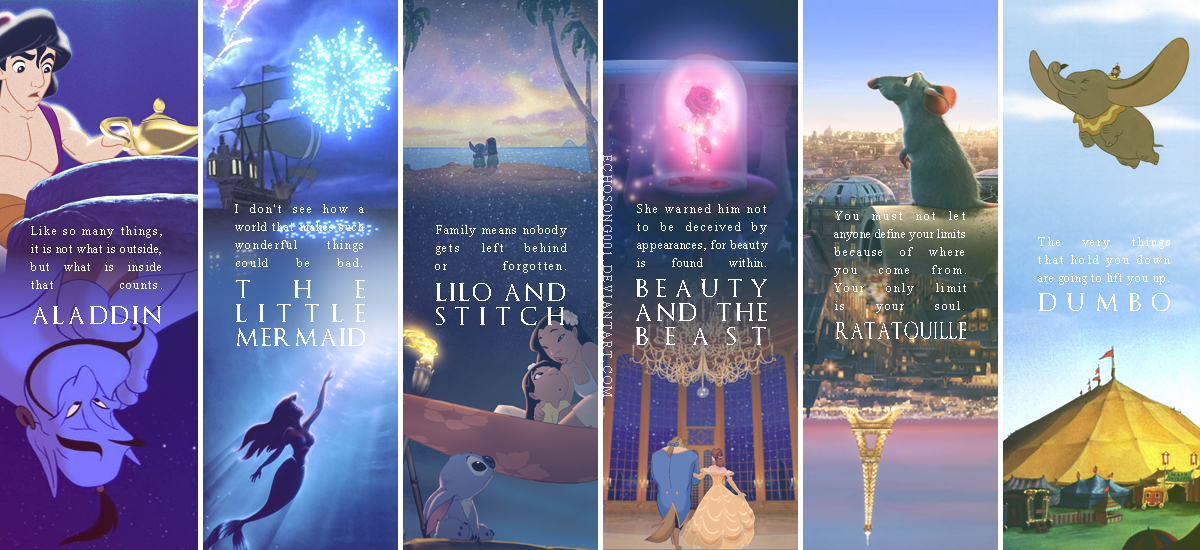 Disney Quotes Wallpaper I By Echosong001 On Deviantart