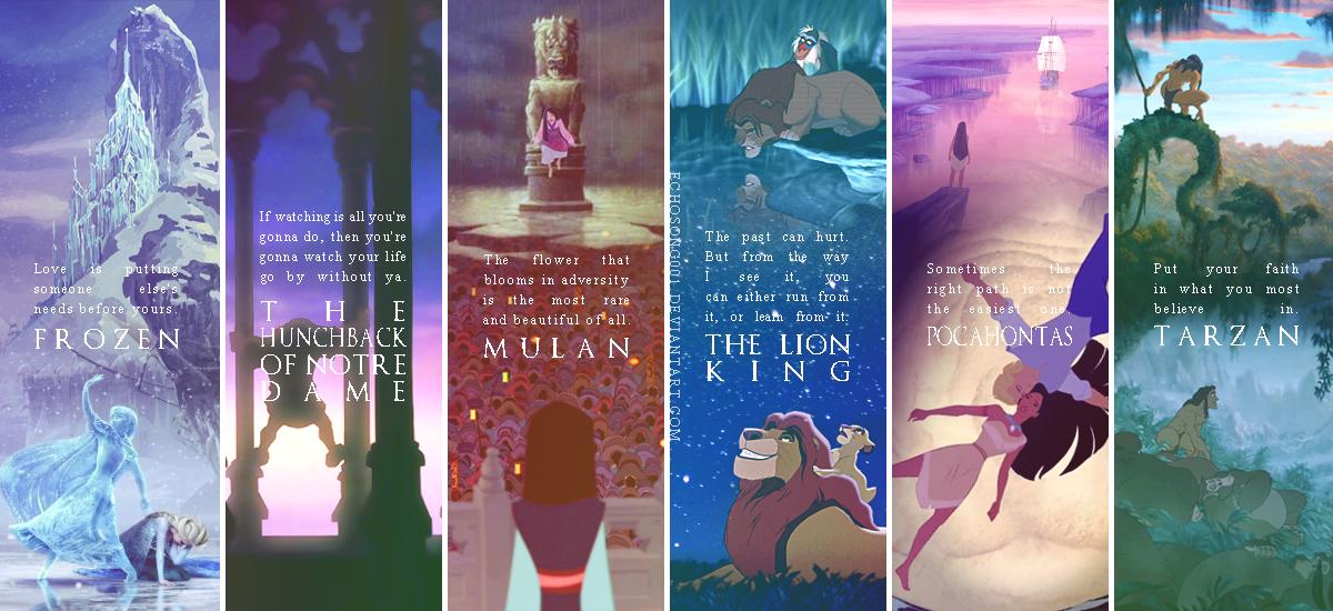 Disney Quotes Wallpaper II By Echosong001