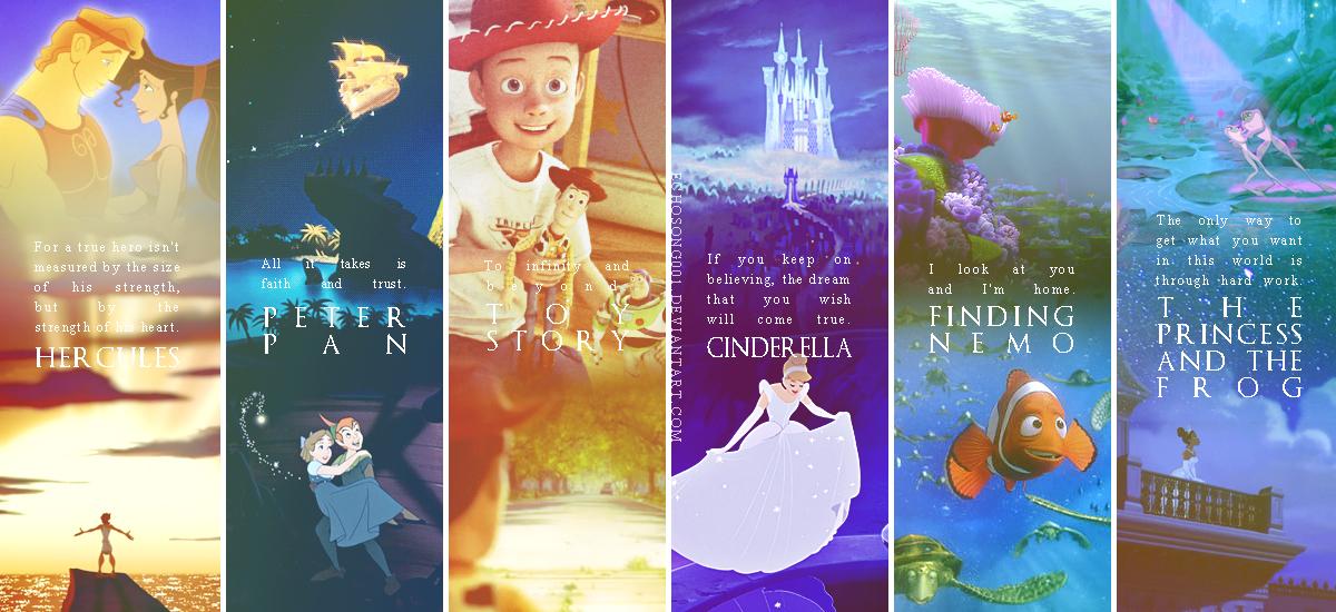 Disney Quotes Wallpaper Iii By Echosong001 On Deviantart