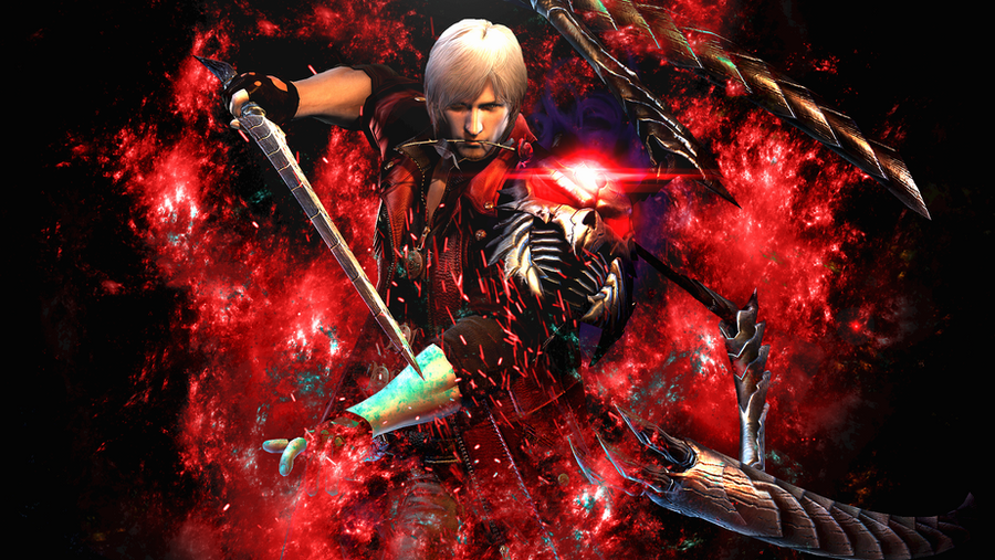 Dante devil may cry 4 by deviantartds on deviantart dante devil may cry 4 by deviantartds voltagebd Images