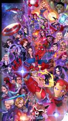 Avengers Assemble!! by shin0202