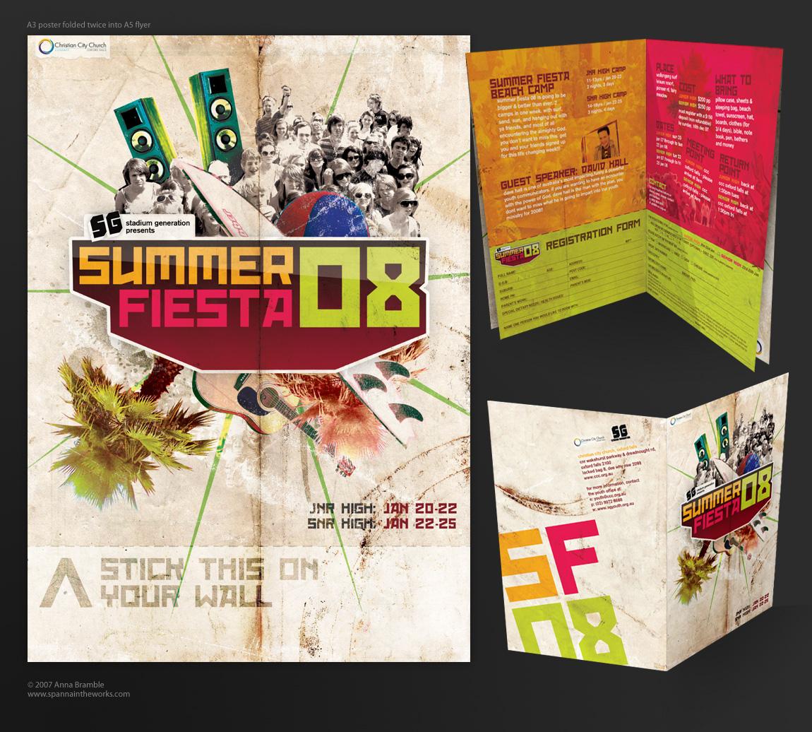 Summer Fiesta 08 flyer