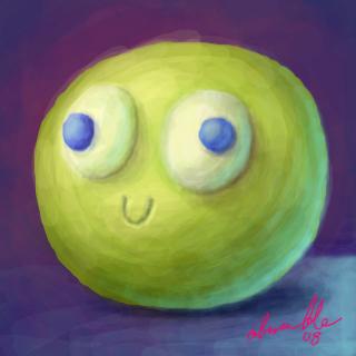 A Cute Ball by AnnaBramble