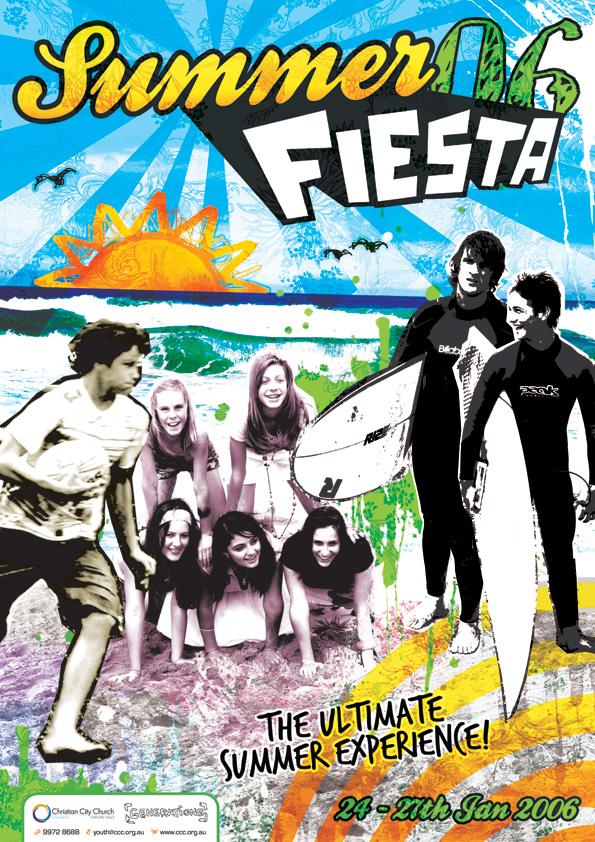 Summer Fiesta Flyer-Poster