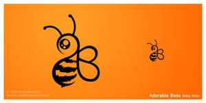 Adorable Bees Baby Wear Logo