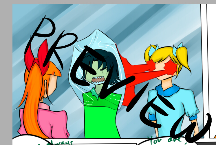 Counterpart PPG Comic Page 2 PREVIEW By Kuraikitsune13 On