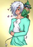 Emotional Support Moomin and Snufkin by kuraikitsune13