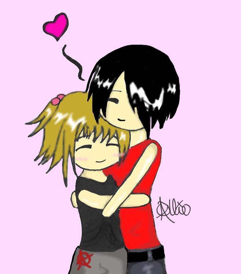Chibi Love by TheEndOfTheLine on DeviantArt  |Chibi Love Anime