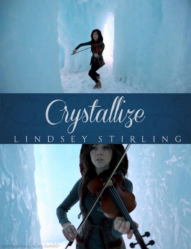 Lindsey Stirling Crystallize Lindsey Stirling Crystallize Poster