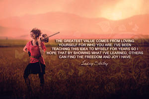 Lindsey Stirling Quote by vhesketh