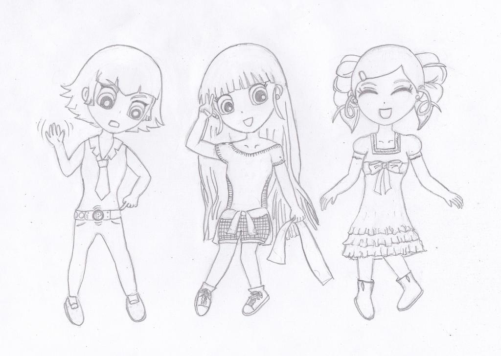 The Powerpuff Girls Z by jadeasistores