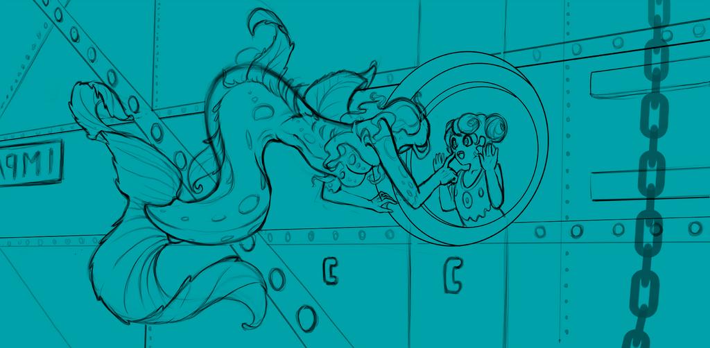 Curiosity (Sketch) by Jesse-Dixium