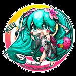 Miku (Vocaloid Fan-art)
