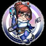 Mei Chibi [Overwatch Fan-art]