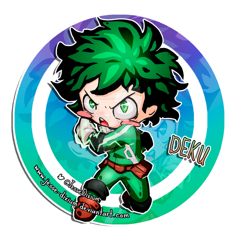 Deku [Boku no Hero Academia Fan-Art] by Jesse-Dixium