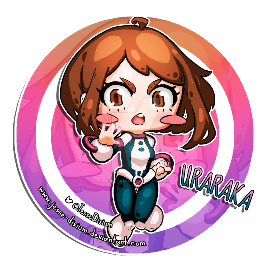 Uraraka [Boku no Hero Academia Fan-Art] by Jesse-Dixium
