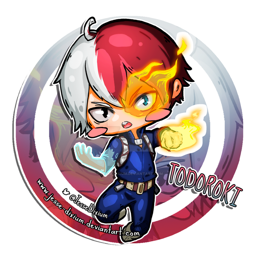 Todoroki [Boku no Hero Academia Fan-Art] by Jesse-Dixium